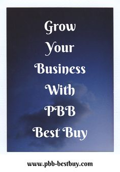 Grow Your Business With PBB Best Buy. Learn more on our main website! Internet Advertising, Internet Marketing, Online Marketing, Digital Marketing, Growing Your Business, Starting A Business, Promotion Marketing, Online Income, Business Branding