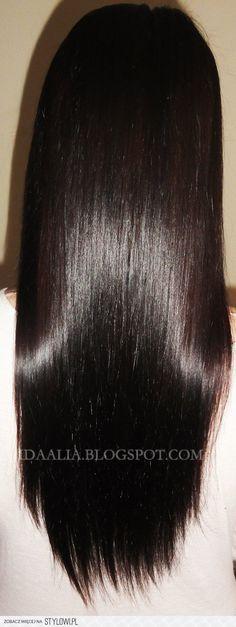 Jeśli twoje włosy są zniszczone i suche: Na zniszczone… na Stylowi.pl Glossy Hair, New Hair, Hair Inspiration, Beauty Hacks, Hair Care, Hair Makeup, Hair Beauty, Make Up, Hairstyle