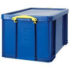 Really Useful Box 9 Litre Solid Black Black Handles NEW You can/'t see in it