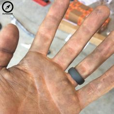 rhino rings a rubber wedding ring for athletes construction