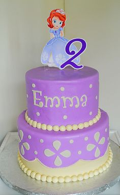 Princess Sofia The First Cake by Simply Sweet Creations (www.simplysweetonline.com)