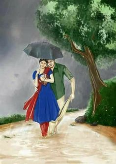 Illustration art nature dreams 55 Ideas for 2019 Indian Paintings, Cool Paintings, Art Sketches, Art Drawings, Sexy Painting, Art Painting Gallery, Girl Sketch, Indian Art, Female Art