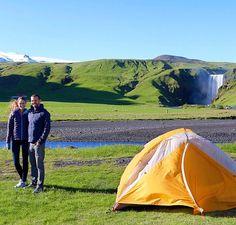 Faire du camping avec la personne que j'aime en Irlande, en Gaspésie, quelque part.