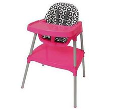 RECALLED...do you have this high chair?????  Convertible high chair (© Evenflo Company, Inc.)