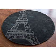Grey Paris Area Rug - 6 ft. Round at the Foundary