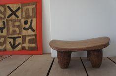 africa  handmade  wooden chair