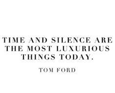 Time / silence