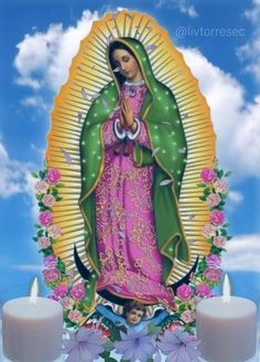 Mary Jesus Mother, Blessed Mother Mary, Mary And Jesus, Blessed Virgin Mary, Good Night Love Messages, Good Night Gif, Jesus And Mary Pictures, Angel Pictures, Beautiful Flowers Wallpapers