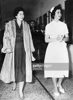 Queen Frederica of Greece with daughter Princess Sophie of Greece