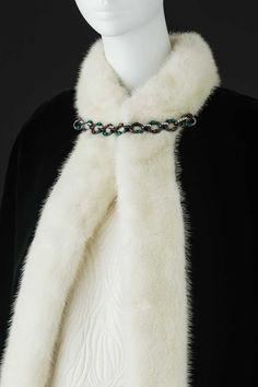 YSL vintage fur