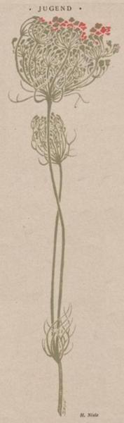 H. Nisle, Jugend, 1901  // Great Gardens & Ideas //