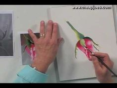 Beginning a Watercolor Painting with Nancy Couick - Part 4 of 5