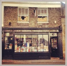 One of my favorite haunts . I used to wander into this shop to escape the world - especially on a terrible day . I miss it so .   John Sandoe Books is a hidden little gem off of King's Road in Chelsea and one of London's best independent bookshops. It's fun to walk across the slightly squeaky old floors and dig through shelves and piles of everything from fiction to big photography and design coffee table style books.