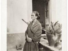 Frida Kahlo in the Casa Azul, Anonymous, 1930.