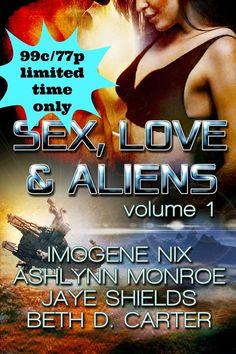 Blog Tour - Sex, Love & Aliens Vol 1 - Anthology (#giveaway $10 GC)