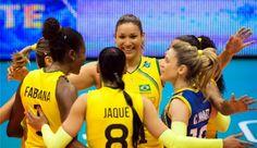 Blog Esportivo do Suíço: Brasil estreia com vitória sobre a Bulgária no Mundial de vôlei