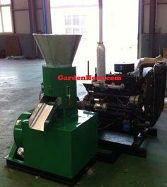 Pellet Mill, Pellet Press to make wood pellets and feed pellets