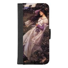 Windflowers-by John William Waterhouse 1902 iPhone 8/7 Plus Wallet Case - classic gifts gift ideas diy custom unique