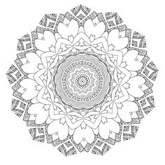 Dream with Mandalas coloring book Design d312