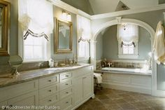 Arched Bathtub Alcove Design, Pictures, Remodel, Decor and Ideas
