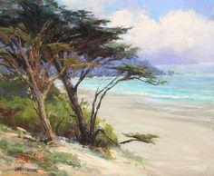 Carmel Beach Gems by Kim Lordier Pastel ~ 10 x 12