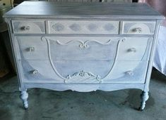Chest of Drawers vintage Dresser Poppy Cottage PAINT to #ad #paintedfurniture