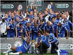 Chelsea lifts the Premier League title, while Hull are relegated to the Championship. It was a dramatic final day in England as Newcastle left it late to confirm their stay in the top division. Chelsea Football, Chelsea Fc, Soccer Fans, Soccer Players, Chelsea Champions League, Hobbies To Try, Barclay Premier League, The Championship, Best Player