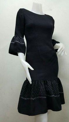 43 New Ideas For Dress Princess Black Beautiful Trendy Dresses, Nice Dresses, Short Dresses, Traditional Fashion, Traditional Dresses, Batik Dress, Silk Dress, Couture Dresses, Fashion Dresses