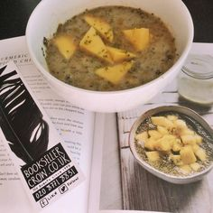 Turmeric and mango spiced chia pot from Amelia Freer's Nourish and Glow: the 10 Day Plan Amelia Freer, Day Plan, Turmeric, Mango, Spices, Lime, Glow, Nutrition, How To Plan