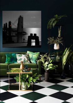 5 dreamy rooms with dark walls! Want that moody and dramatic home? Go for dark walls! Here are some of the best rooms with dark walls! Ideas Actuales, Decor Ideas, Room Ideas, Bar Ideas, Interior Design Minimalist, Modern Interior, Luxury Interior, Midcentury Modern, Cosy Interior