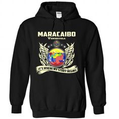 Maracaibo - My story begins - #white tee #workout tee. MORE ITEMS => https://www.sunfrog.com/States/Maracaibo--My-story-begins-1137-Black-Hoodie.html?68278