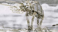Star Wars: the Empire Strikes Back storyboard