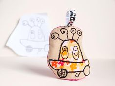 DIY kids toy made from there illustration... by Tutorial GIrl - Looking for your next project? You're going to love DIY kids toy made from there illustratio by designer Tutorial Girl. - via @Craftsy