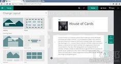 微軟的下一代簡報軟體 Sway怎麼用 ,實測給你看 | T客邦 - 我只推薦好東西 Presentation Software, Skills To Learn, House Of Cards, Washington Dc, Novels, Layout, Author, Mood, The Originals