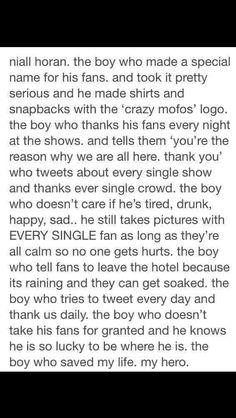 <3 I love Niall Horan