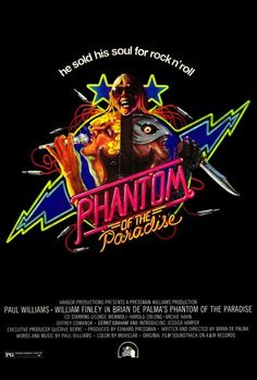 "Paul Williams talks about making ""Phantom Of The Paradise"" with Brian De Palma."