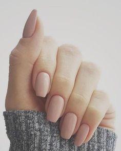 Nude nail polish #nails #nailpolish