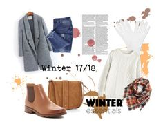 """My style#13"" by reka-szabadi on Polyvore featuring Express, BP., Essie, Söfft, Winter, casualoutfit, 2018 and autumn2017"