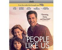 Chris Pine and Elizabeth Banks star in the touching film 'People Like Us', coming to DVD and Blu-ray on Tuesday, October 2, 2012