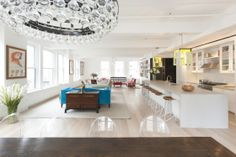 Studio DB - Playful pops of color to white and acrylic elegance