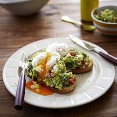Collect this Poached Eggs with Avocado and Feta Smash on Sourdough recipe by Australian Eggs. MYFOODBOOK.COM.AU | MAKE FREE COOKBOOKS