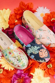 #toms #tomsshoes #alpargata #floral #summer #colorful #palm #bird #parrot #espadrilles #meadow #limited #unique #budapest #szputnyikshop Budapest, Espadrilles, Parrot, Palm, Toms, Slip On, Marvel, Colorful, Bird