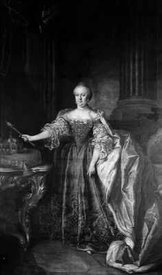 Christian Kollonitsch   , 1730 - 1802 Portrait of Empress Maria Theresa, 1766 TECHNIQUE Oil on canvas REFERENCE KMS882