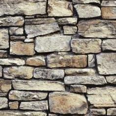 Cornish Stone Brown wallpaper by Arthouse