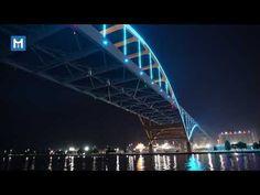Lighting of the Hoan Bridge - YouTube