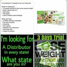 Get your 3 day trial weight loss started today. EXPERIENCE THE HERBALIFE 3-DAY TRIAL PACK! Discover how you can start losing weight with an Herbalife nutrition program, personalized support and a healthy, active lifestyle. get started today get your 3 day trial pack!! text me your health coach Kenyatte dobson/kenyattedobson@gmail.com text me during the day between 12 AM to 4:30 p.m. / askmehow www.goherbalife.com/kenyatte-dobson/en-US kenyattedobson@gmail.com