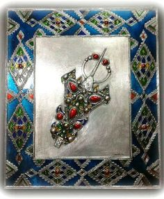 L'artisanat Algérien Diy Art, Home Curtains, Ethnic Jewelry, Home Accessories, Roots, Jewerly, Magnets, Islam, Culture