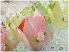 lovely origami bag/box (tutorial)