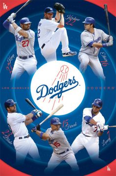 Dodgers Collage