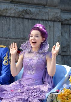 Dove Cameron as Mal daughter of Maleficent in Disney's Descendants